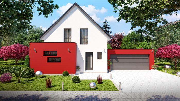 Maisons du constructeur HOMELINES • 112 m² • ROPPENTZWILLER