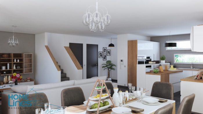 Maisons du constructeur HOMELINES • 130 m² • HAGENTHAL LE HAUT