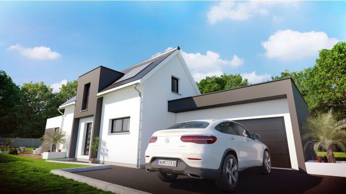 Maisons du constructeur HOMELINES • 110 m² • PFASTATT