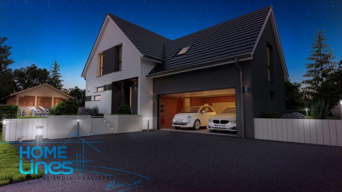 Maisons du constructeur HOMELINES • 130 m² • SOULTZMATT