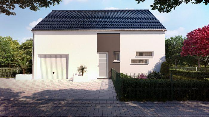Maisons du constructeur HOMELINES • 90 m² • ROMAGNY