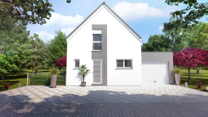 Maisons du constructeur HOMELINES • 106 m² • MERXHEIM