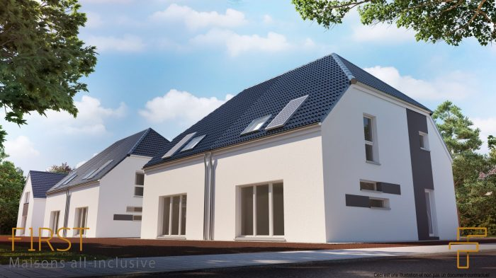 Maisons du constructeur HOMELINES • 90 m² • BALDERSHEIM