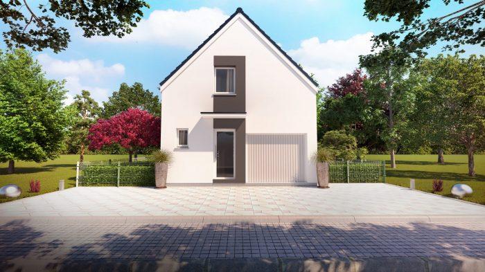 Maisons du constructeur HOMELINES • 90 m² • DESSENHEIM
