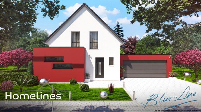 Maisons du constructeur HOMELINES • 110 m² • BURNHAUPT LE BAS