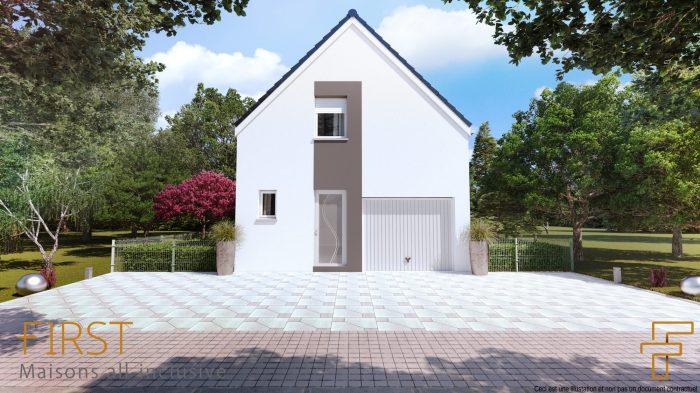 Maisons du constructeur HOMELINES • 90 m² • BALGAU