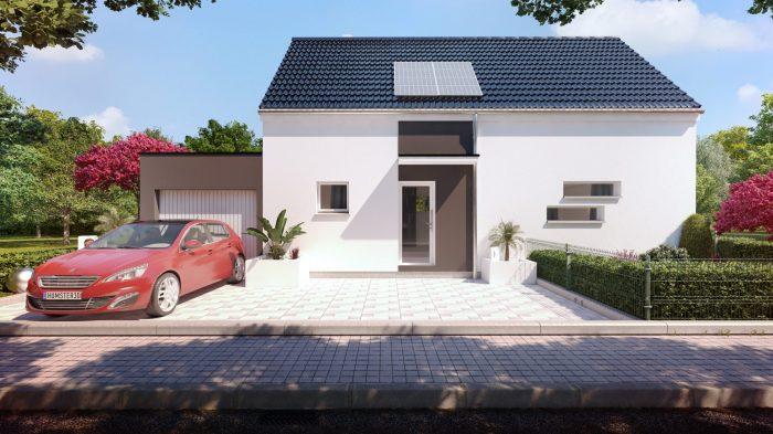 Maisons du constructeur HOMELINES • 106 m² • RAEDERSHEIM