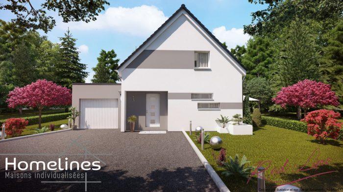 Maisons du constructeur HOMELINES • 90 m² • ILLZACH