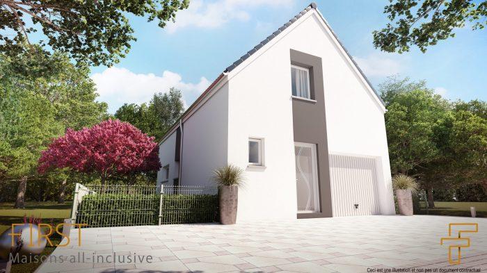 Maisons du constructeur HOMELINES • 90 m² • BILZHEIM