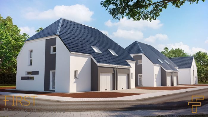 Maisons du constructeur HOMELINES • 90 m² • RICHWILLER