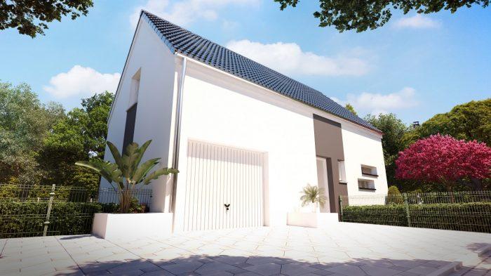 Maisons du constructeur HOMELINES • 90 m² • UNGERSHEIM