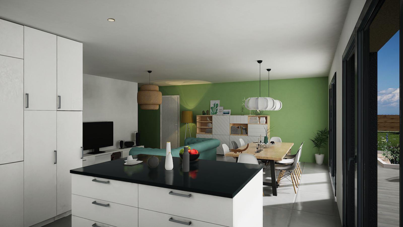 Maisons du constructeur MAISONS KERBEA • 90 m² • OISSERY