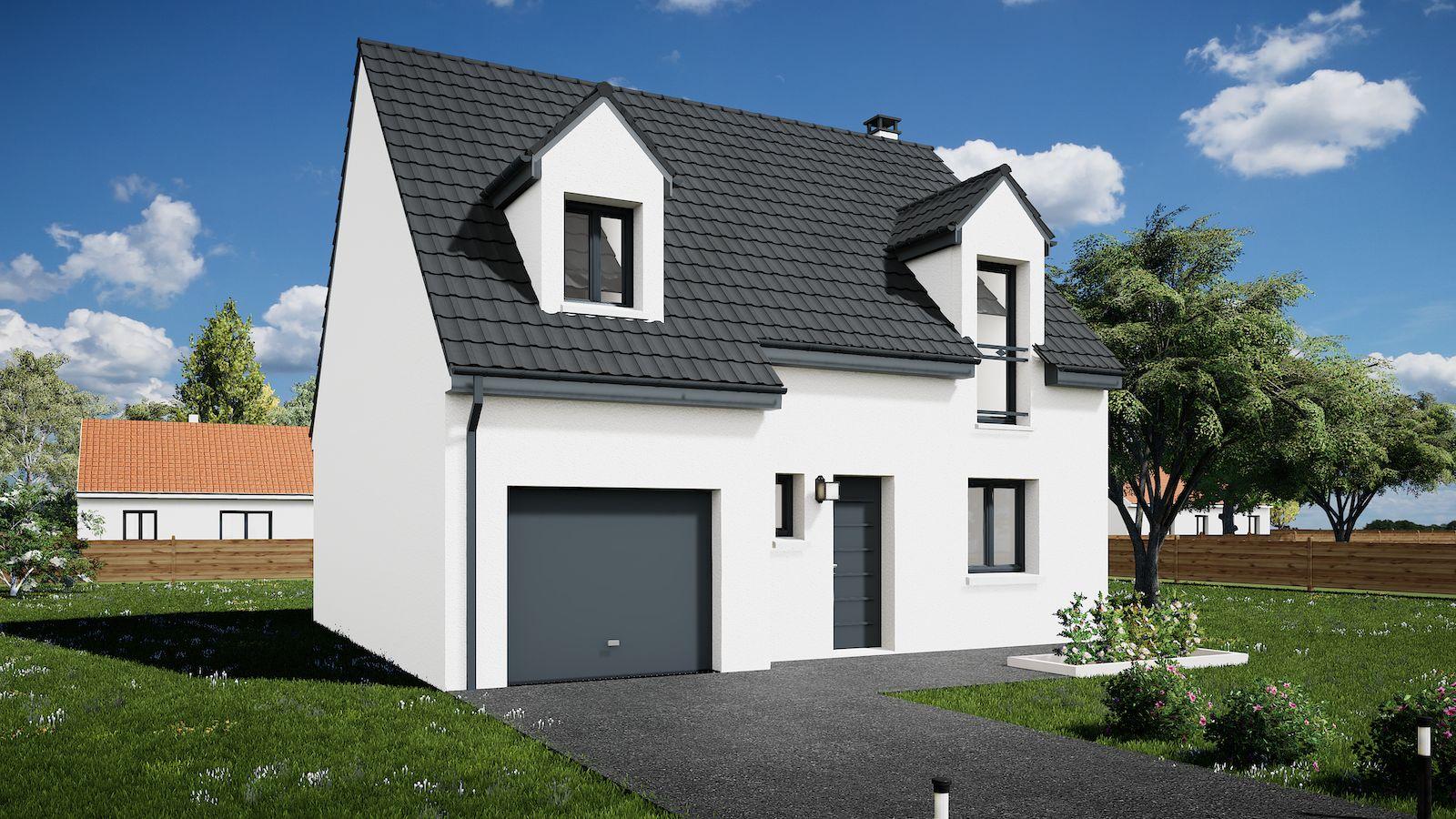 Maisons du constructeur MAISONS KERBEA • 85 m² • NANTEUIL LES MEAUX