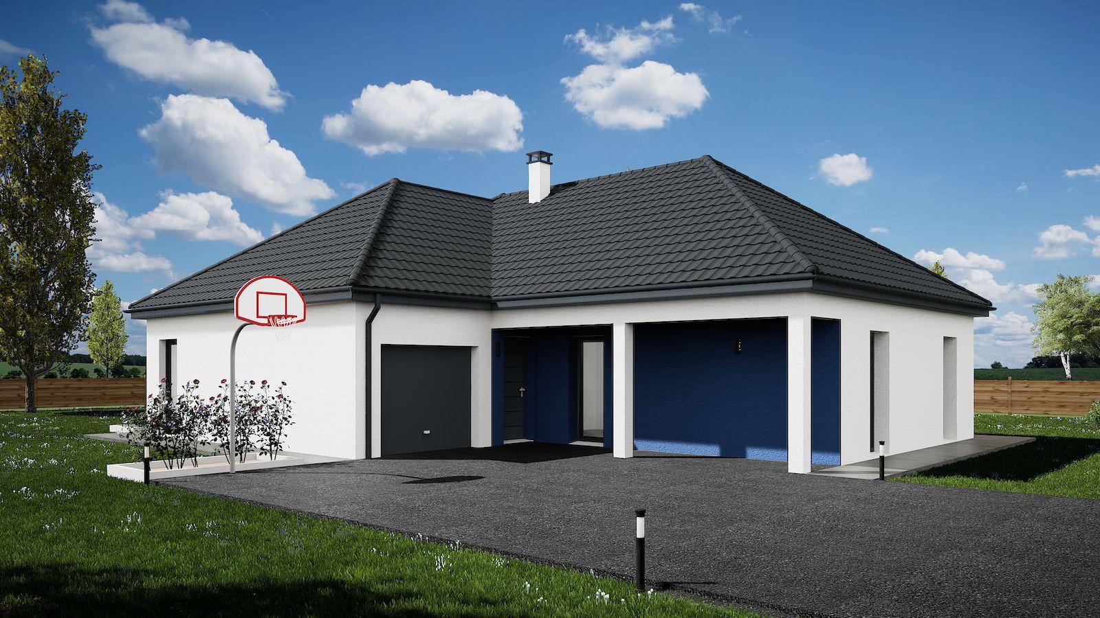 Maisons du constructeur MAISONS KERBEA • 90 m² • MARCILLY