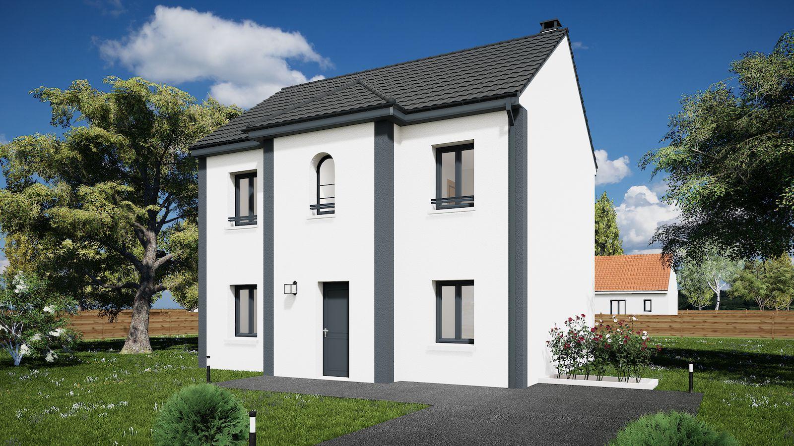 Maisons du constructeur MAISONS KERBEA • 102 m² • LIVERDY EN BRIE