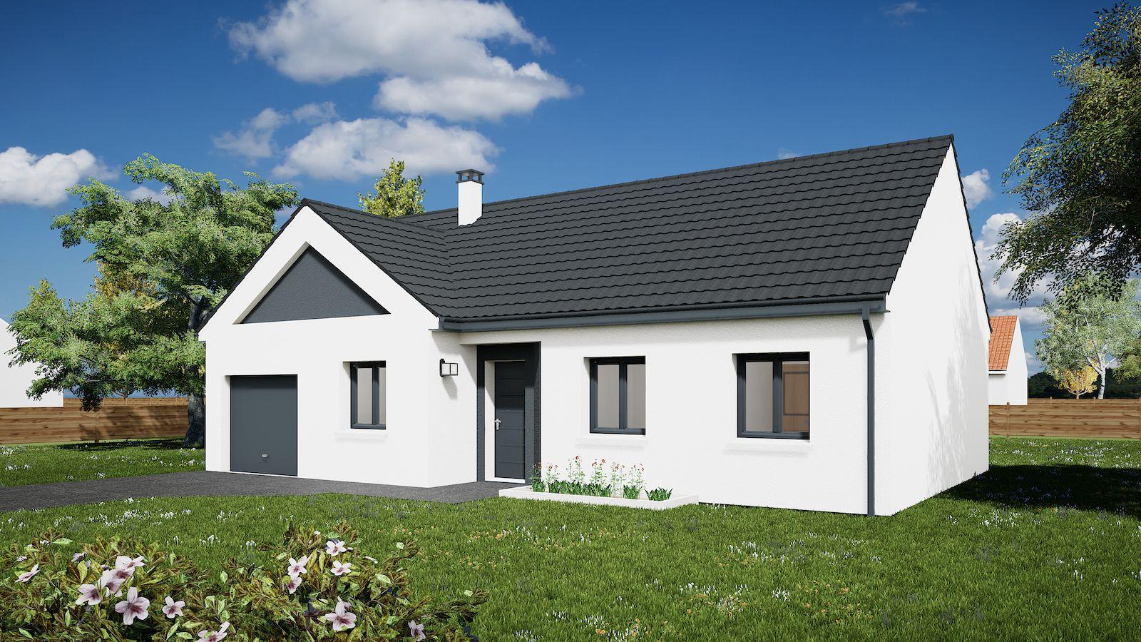 Maisons du constructeur MAISONS KERBEA • 86 m² • DAMMARTIN EN GOELE