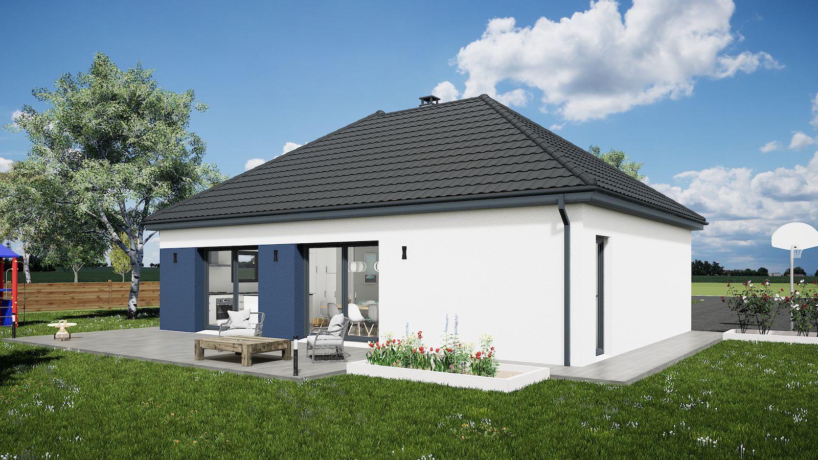 Maisons du constructeur MAISONS KERBEA • 90 m² • BARCY