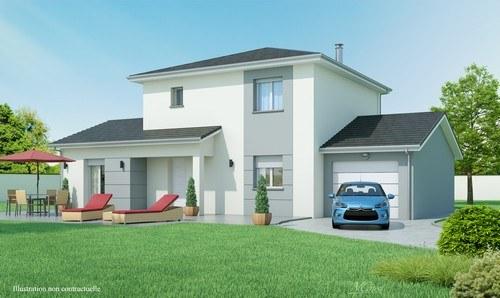 Maisons + Terrains du constructeur MAISONS D EN FRANCE CHARNAY LES MACON • 130 m² • CHARNAY LES MACON