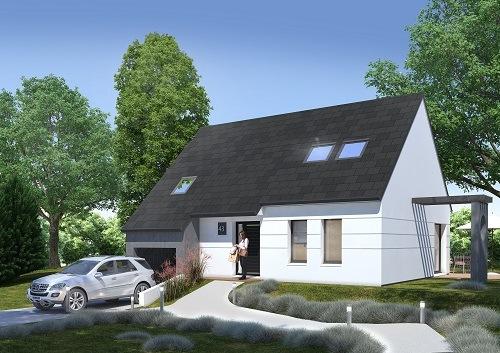 Maisons + Terrains du constructeur LES MAISONS.COM RIS ORANGIS • 92 m² • ANGERVILLIERS