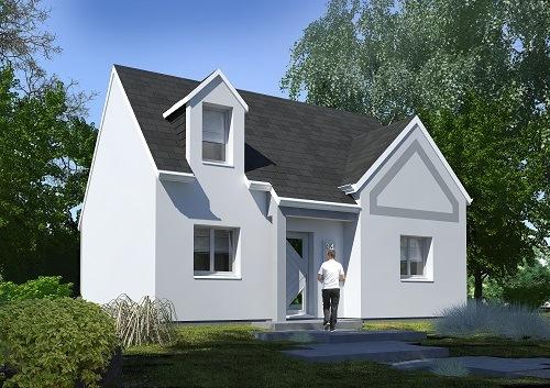 Maisons + Terrains du constructeur LES MAISONS.COM RIS ORANGIS • 76 m² • ROINVILLE