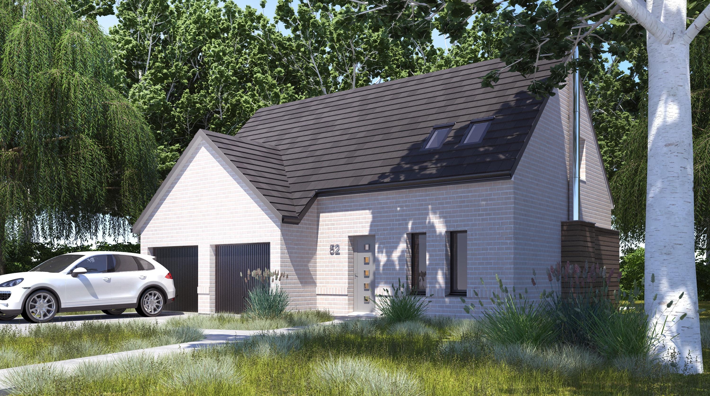 Maisons + Terrains du constructeur LES MAISONS.COM RIS ORANGIS • 102 m² • LA FORET LE ROI