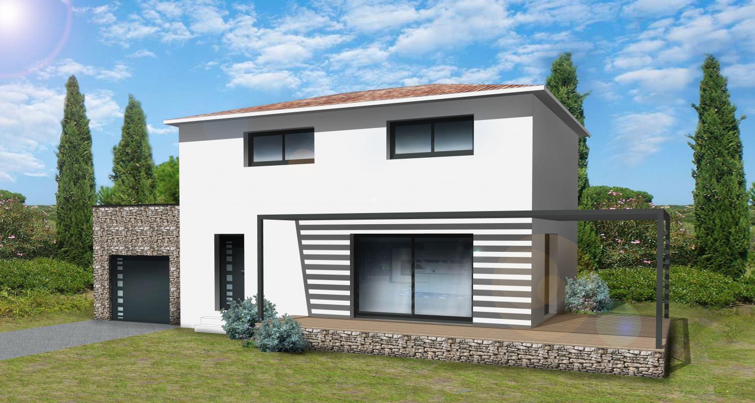 Maisons + Terrains du constructeur VILLAS GAIA • 110 m² • MARGUERITTES