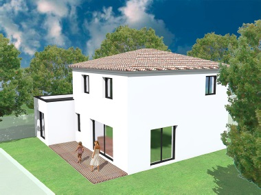 Maisons + Terrains du constructeur VILLAS GAIA • 95 m² • NIMES