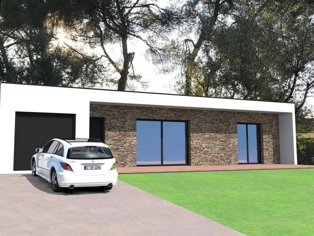 Maisons + Terrains du constructeur VILLAS GAIA • 105 m² • NIMES