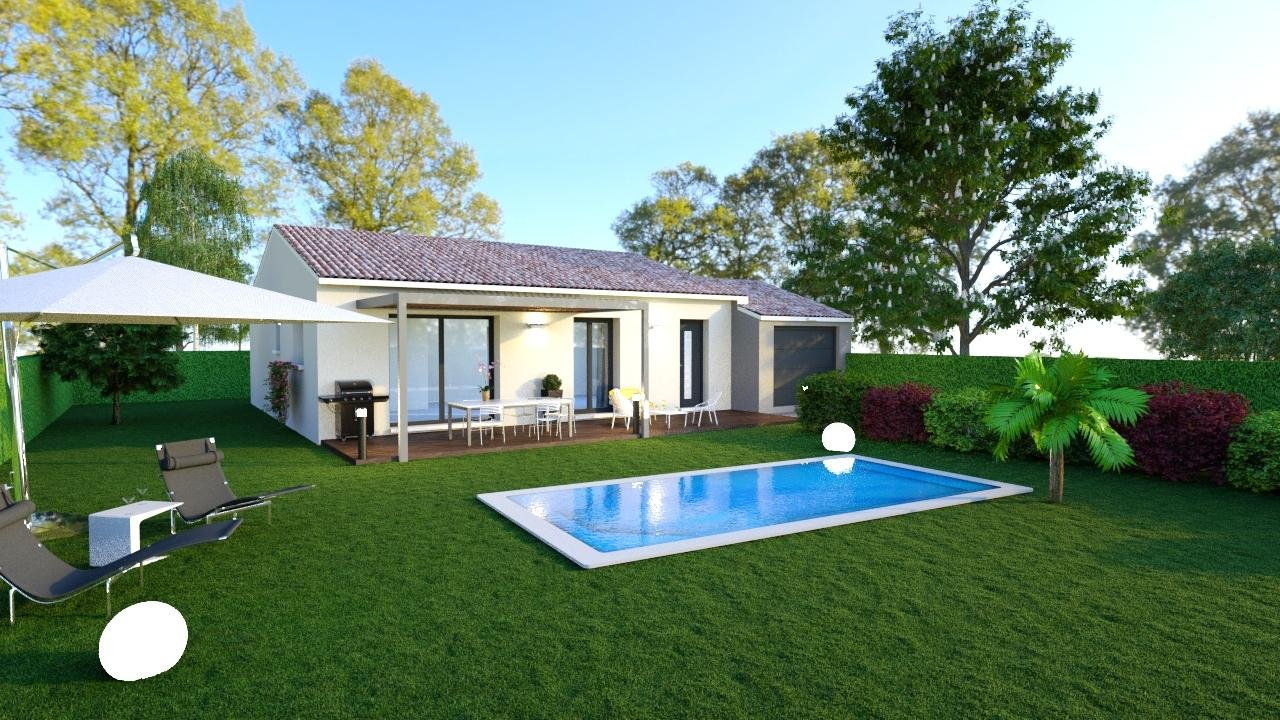 Maisons du constructeur DEMEURES DE PROVENCE SUD • 90 m² • SALON DE PROVENCE