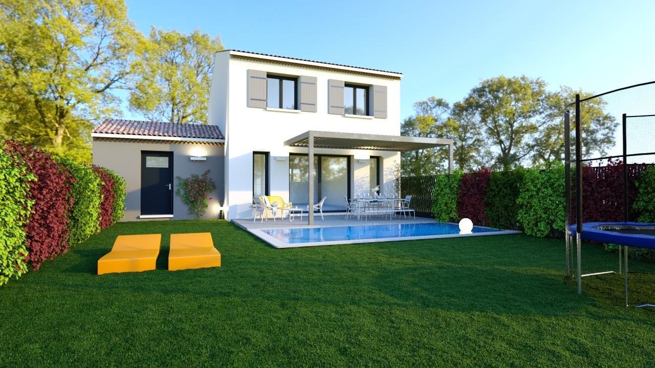 Maisons du constructeur DEMEURES DE PROVENCE SUD • 88 m² • MAUBEC