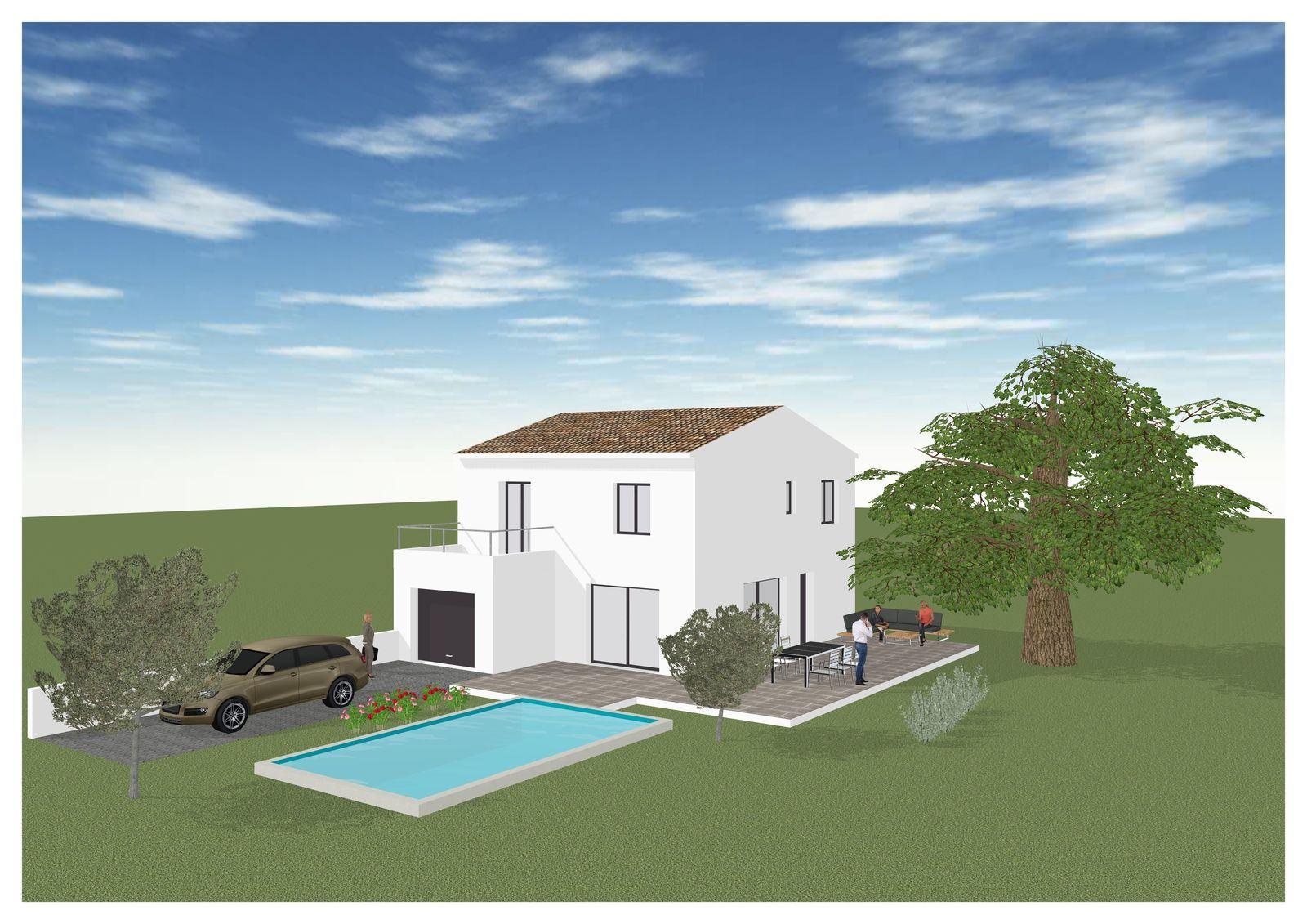 Maisons + Terrains du constructeur MAISONS BLANCHE •  m² • FUVEAU