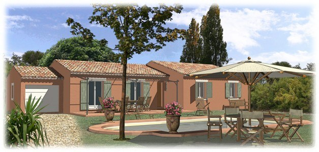 Maisons + Terrains du constructeur MAISONS BLANCHE • 80 m² • BRIGNOLES
