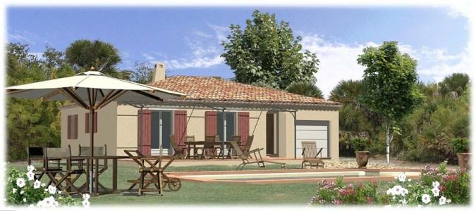 Maisons + Terrains du constructeur MAISONS BLANCHE • 90 m² • MONTMEYAN