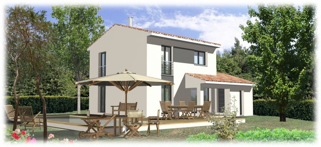 Maisons + Terrains du constructeur MAISONS BLANCHE • 85 m² • VINON SUR VERDON