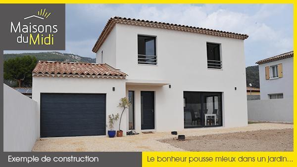 Maisons + Terrains du constructeur MAISONS DU MIDI • 90 m² • SALERNES