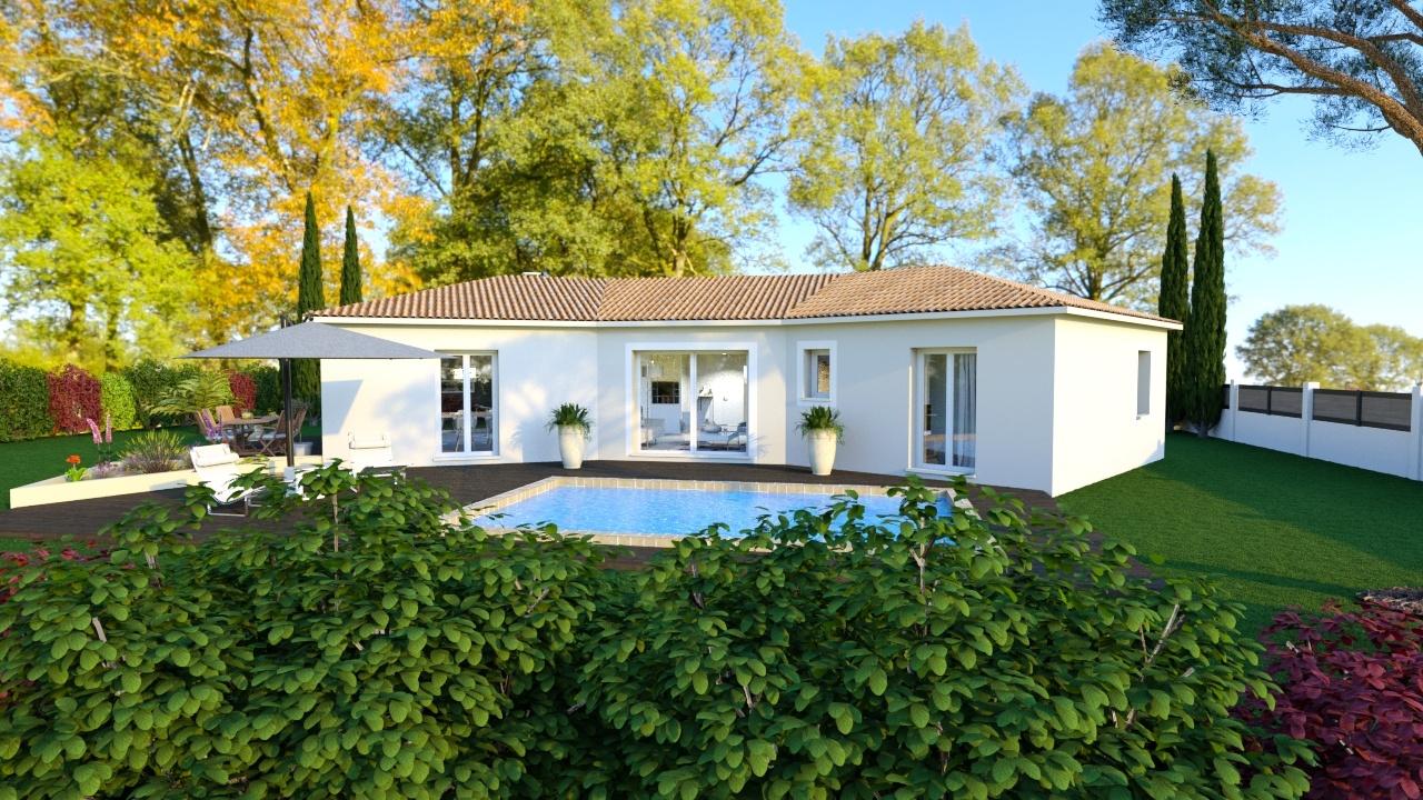 Maisons + Terrains du constructeur MAISONS DU MIDI • 105 m² • LORGUES