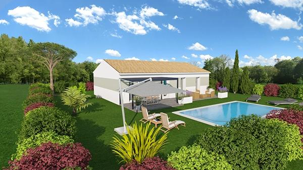 Maisons + Terrains du constructeur MAISONS DU MIDI • 89 m² • SALERNES