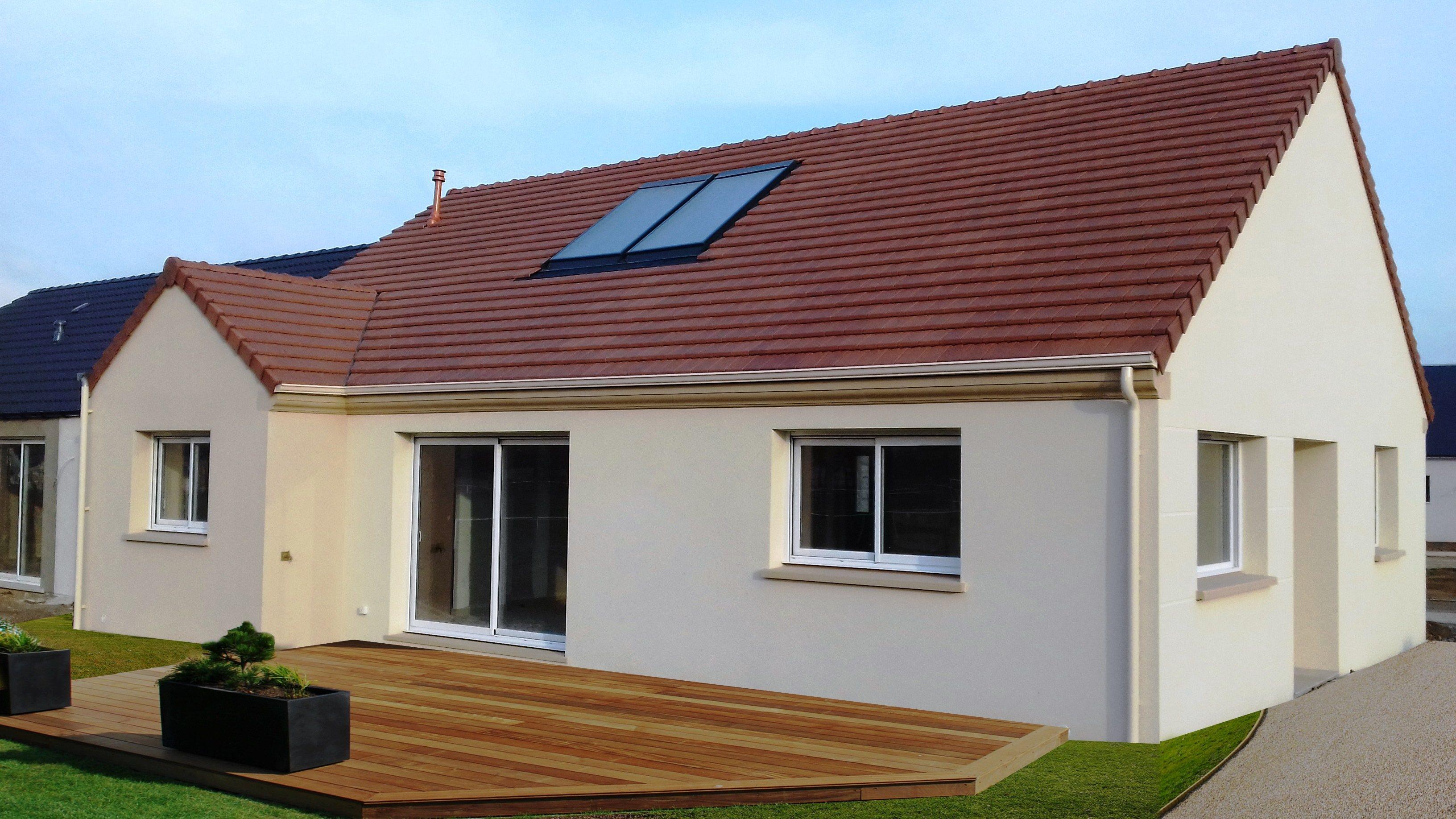 Maisons + Terrains du constructeur MAISON CASTOR • 80 m² • SAINT CLAIR SUR EPTE