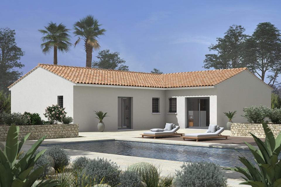 Maisons + Terrains du constructeur MAISONS FRANCE CONFORT • 110 m² • GARGAS