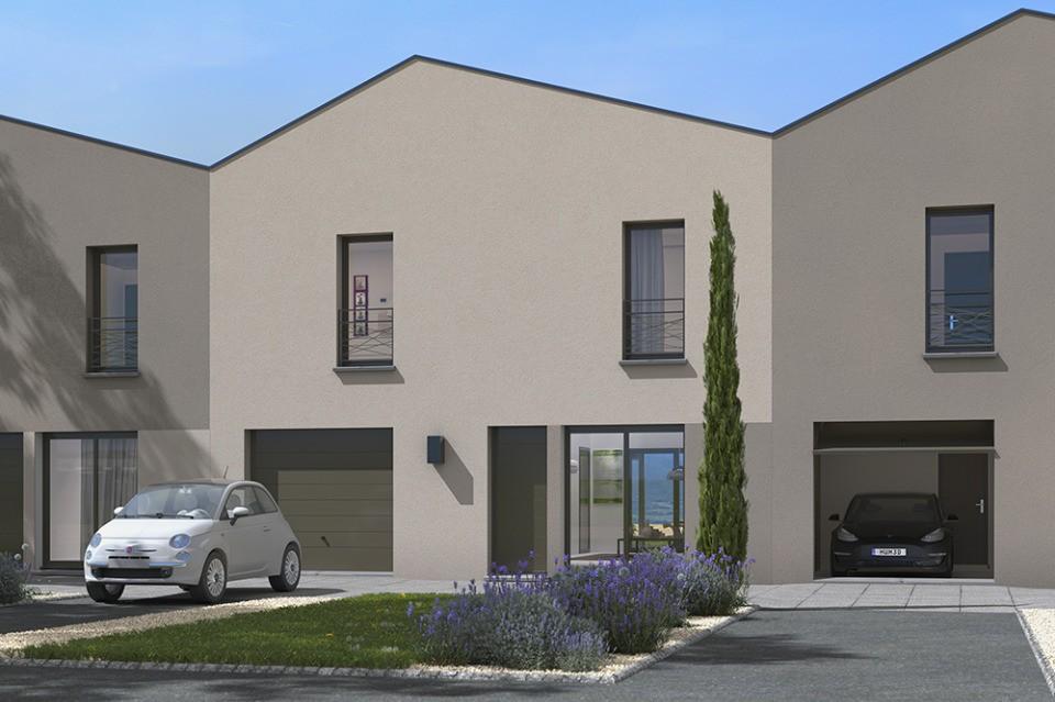Maisons + Terrains du constructeur MAISONS FRANCE CONFORT • 105 m² • SAINT JEAN