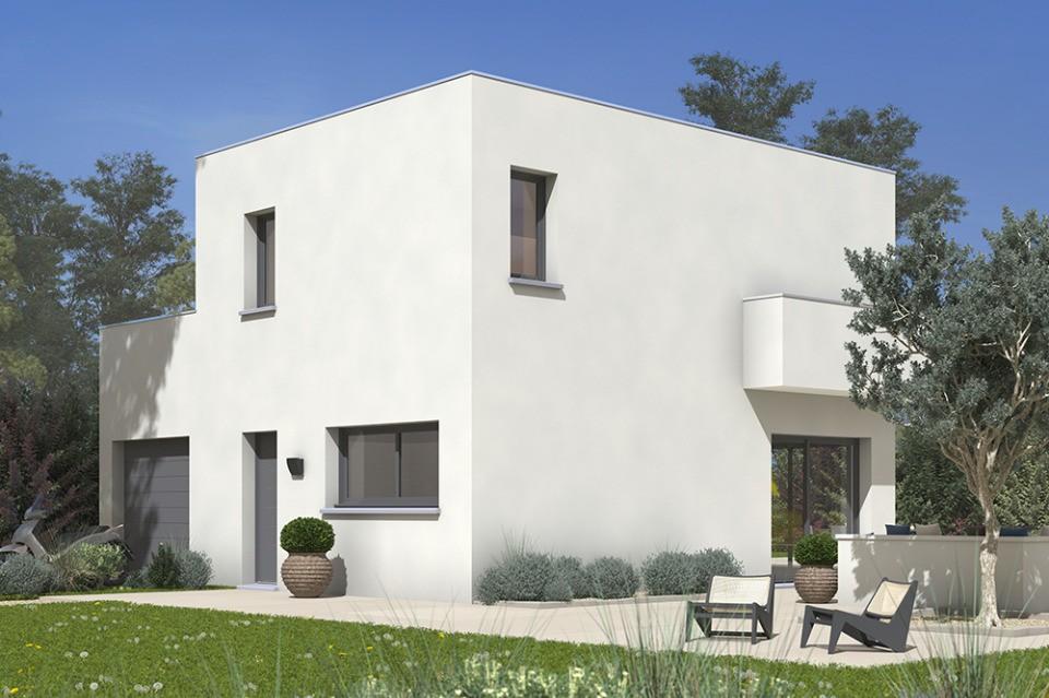 Maisons + Terrains du constructeur MAISONS FRANCE CONFORT • 90 m² • BALMA