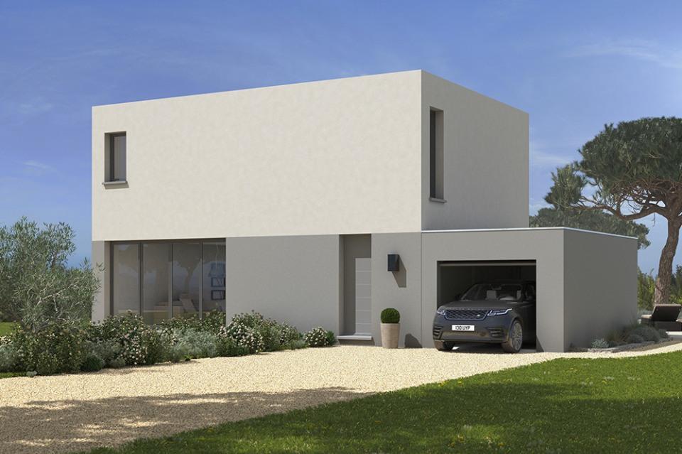 Maisons + Terrains du constructeur MAISONS FRANCE CONFORT • 100 m² • CASTELGINEST
