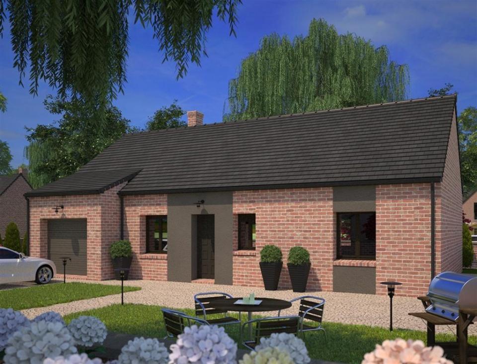 Maisons + Terrains du constructeur MAISONS FRANCE CONFORT • 90 m² • ACQUIN WESTBECOURT