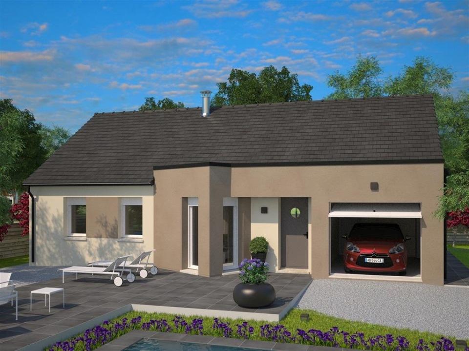 Maisons + Terrains du constructeur MAISONS FRANCE CONFORT • 86 m² • BALINGHEM