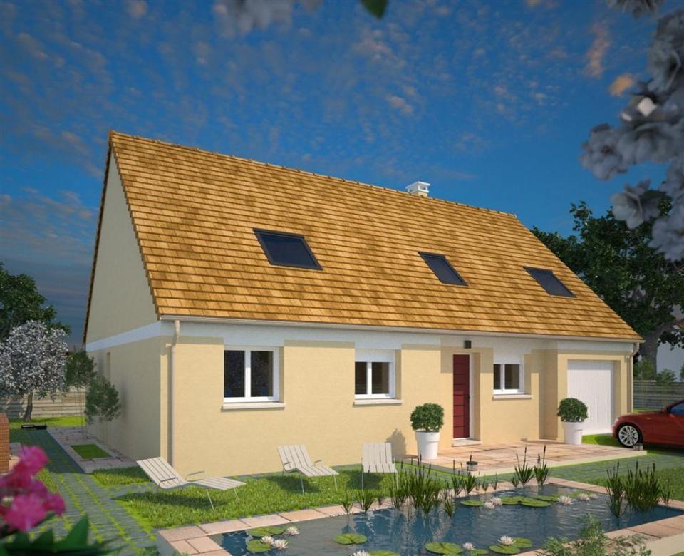 Maisons + Terrains du constructeur MAISONS FRANCE CONFORT • 85 m² • ACQUIN WESTBECOURT