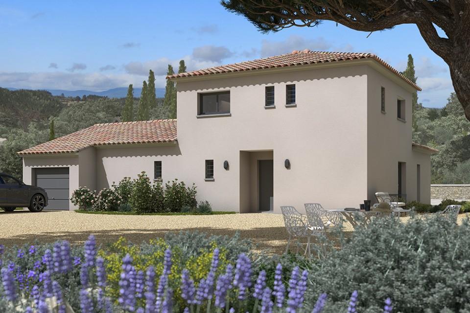 Maisons + Terrains du constructeur MAISONS FRANCE CONFORT • 140 m² • LE CASTELLET