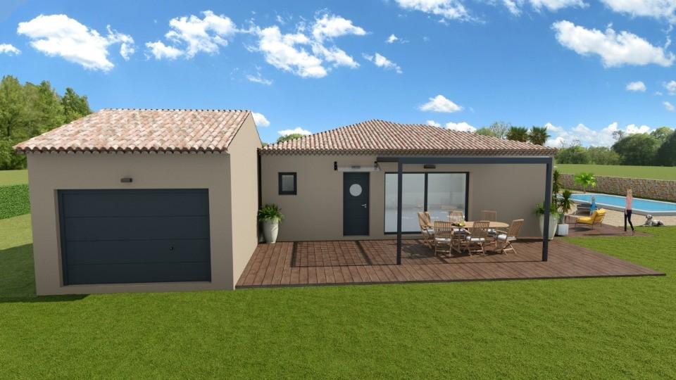 Maisons + Terrains du constructeur LES MAISONS DE MANON • 127 m² • GRIMAUD