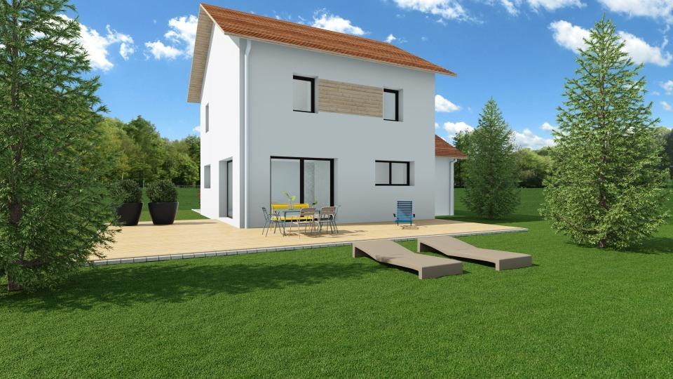 Maisons + Terrains du constructeur MAISONS FRANCE CONFORT • 90 m² • LANS EN VERCORS