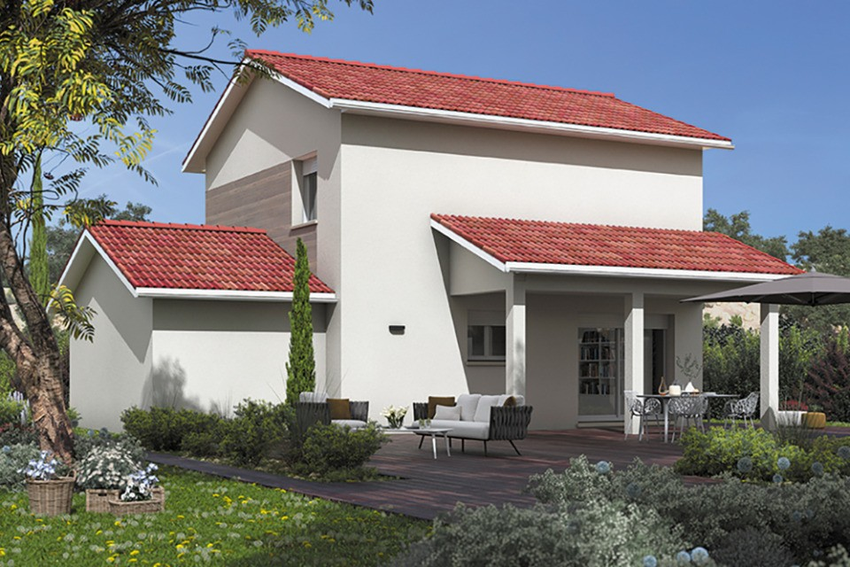 Maisons + Terrains du constructeur MAISONS FRANCE CONFORT • 90 m² • POISAT