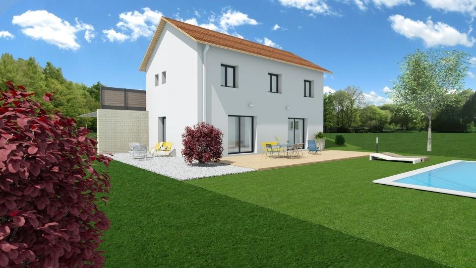 Maisons + Terrains du constructeur MAISONS FRANCE CONFORT • 113 m² • SAINT PIERRE DE MESAGE